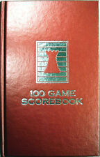 Candy Apple Red Hardcover Chess Scorebook - Made in USA !