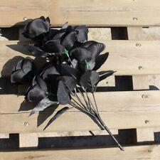 Artificial Black Roses Bouquet Artificial Flower Fake Roses Floral Decor Fashion