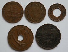 COMMONWEALTH coins. Canada, East Africa, India, South Africa, State of Jersey.