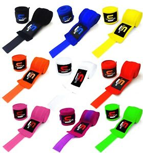 Power Hand Wraps Inner Gloves Bandages MMA Boxing Muay Thai Mexican Stretch