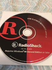 RadioShack USB Flatbed Scanner Version 1.0 driver disc