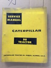 OEM CATERPILLAR D8 Tractor Service Shop Repair Manual