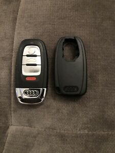 Audi Smart Key Fob And Valet Cover