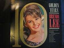 """BRENDA LEE-  10 Golden Years - Vinyl LP (1966 Pickwick SPC-3697) """"Greatest Hits"""""""