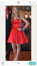 Sherri Hill Red Dress 50228