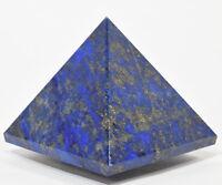 "2.3"" 200g LAPIS LAZULI w/ Pyrite Pyramid Polished Crystal Mineral - Afghanistan"