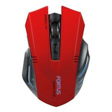 SPEEDLINK Fortus Wireless Optical 2400DPI Gaming Mouse, Red/Black
