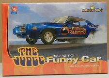 KING PONTIAC GTO 1969 69 DRAG RACING FUNNY CAR JUDGE SLAMMER NOS AMT MODEL KIT