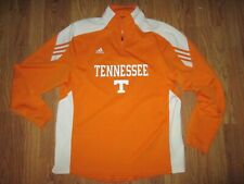 Mens Adidas Climalite Tennessee Volunteers Vols athletic 1/4 zip shirt M Md Med