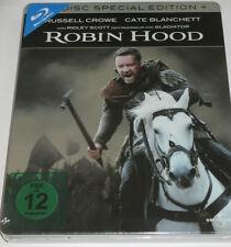 Robin Hood - 2 Blu-ray/NEU/OVP/Abenteuer/Russell Crowe/Cate Blanchett/Steelbook