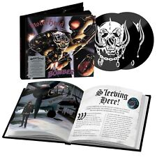 MOTORHEAD CD x 2 Bomber 40th Anniversary Edn. Deluxe BOOK + Promo Sheet IN STOCK