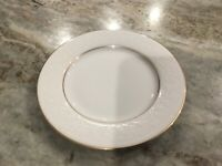"""White Lace Gold by NIKKO 6 1/2"""" BREAD & BUTTER PLATE, Thailand"""