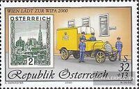 Österreich 2270II (kompl.Ausg.) Jahreszahl 2000 gestempelt 2000 WIPA 2000