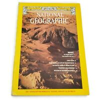 Vtg National Geographic Magazine Volume 151 No 1 January 1977 Good Condition