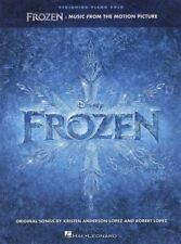 Frozen Beginning Piano Solo from The Motion Picture Movie Film Sheet Music Book