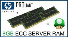 HP Proliant 8GB (2x4GB) PC2-6400P 800Mhz ECC Reg Server Ram Kit 497767-B21