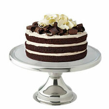 "Cake Stand 12"" Stainless Steel 