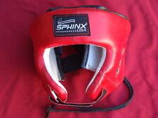 Casco SPHINX USA PROTEZIONE BOXE KICK BOXING MMA MUAY THAI PUGILATO DIFESA