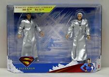 Superman Returns House of El 2 Figure Set Kal-El Jor-El Mattel NIP 2006 S188-16