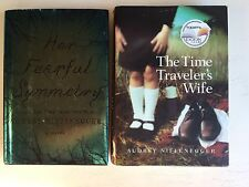 Lot of 2 Audrey Niffenegger Books Time Travelers Wife & Her Fearful Symmetry HC