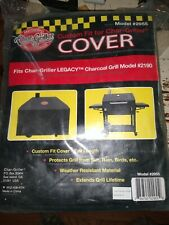 New Char Griller Bbq Cover 2955 Fits Legacy 2190 Charcoal Bbq Grill Fast Ship!