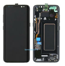 Display LCD Touch Screen+frame Per Samsung Galaxy S8+ PLUS G955F Nero+tool+cover
