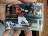 2018 Topps Chrome Victor Robles Washington Nationals RC