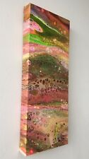 Abstract Painting - Acrylic Fluid Pour, Dirty Pour on Canvas