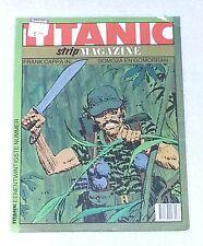 TITANIC STRIP MAGAZINE #21 Dutch Language Netherlands 1986 Frank Cappa COMIC