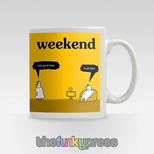 IKEA Weekend shopping Drôle Expletive tasse thé café CADEAU