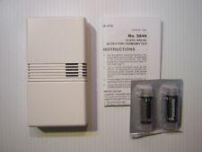 Honeywell Ademco 5849 Wireless Glassbreak Glass Detector Sensor Used w/New Batt