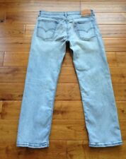 AMAZING LOOK! Levis 514 Slim Straight DESTROYED Mens Jeans MEAS 33x28 INCREDIBLE