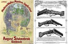 August Stukenbrok c1912 Gun Catalog (German)