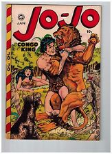 Jo-Jo Congo King # 23 VF 1949 Fox Features GOLDEN AGE Comic Book Jungle JJ1