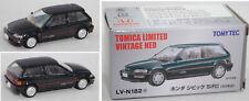 TOMICA /TOMYTEC LV-N182a Honda Civic SiR II schwarzgrün 1:64