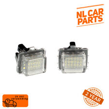 2X MERCEDES C E S CLASS LED CAR LICENSE NUMBER PLATE LIGHT  A2218200856 NEW