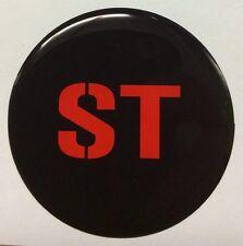 Diseñado para el FORD FOCUS ST/Zetec [HOONIGAN estilo] Negro/Rojo geles de 60mm X 4