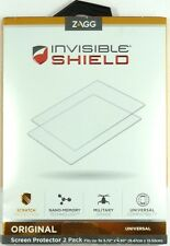 """ZAGG - 3.72"""" x 4.93"""" InvisibleShield  (2-pack) Universal Screen Protector(Clear)"""