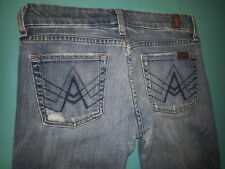 "7 For All Mankind ""A Pocket"" Boot cut Women's Jeans Size 26, inseam 31"