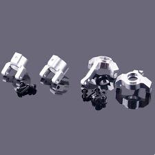 RC AXIAL SCX10-01 SCX10-02 Silver Alum Knuckle Arm (F/R)  For 1:10 SCX10 Wrangle