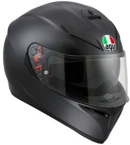 AGV sportlicher Motorrad Integralhelm K3 SV schwarz matt Größe L