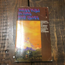 Three Trips in Time and Space PB 1st Dell - John Brunner Jack Vance Larry Niven