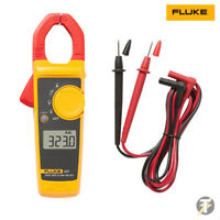 Fluke 323 Digital Clamp Meter True RMS with Test Leads + Protective Case LDMC33