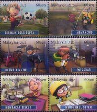 Malaysia 2012 Children's Hobbies MNH t