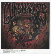 GUNS N ROSES - SKELETONS - STICKER/DECAL - BRAND NEW VINTAGE - MUSIC BAND 088