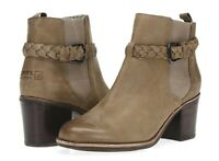 SPERRY TOP-SIDER Womens Taupe Leather Ankle Boots Sz 10 M NEW! 216713