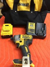 DeWALT 1/4 Cordless Impact Driver With Lithium Battery And Charger Included Kit