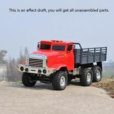 CROSS RC Model 1/12 KC6L Off Road Military Truck 6*6 KIT Motor Metal Hubs Car