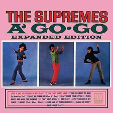 THE SUPREMES - THE SUPREMES A' GO-GO 2 CD ALBUM (Released 14th July 2017)