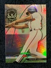 1998 Donruss Collections Preferred PRIZED Refractor #730 ANDRUW JONES Power /55